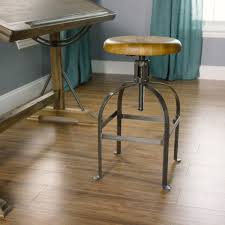 World Market Drafting Table Adjustable Wood And Metal Stool World Market