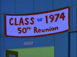 high school reunion banner midpoint dead homer society