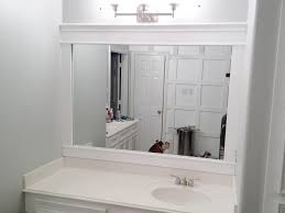Oak Framed Bathroom Mirror Maple Framed Bathroom Mirror Bathroom Mirrors