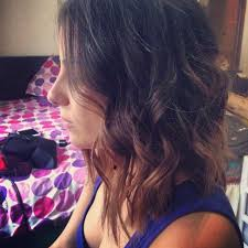 medium length hair with ombre highlights ombre bob hairstyle with waves 2017