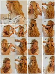 step by step hairstyles for long hair with bangs and curls easy hairstyle step by step android apps on google play