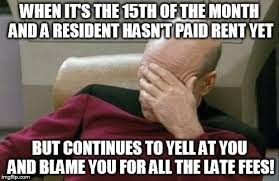 Property Management Memes - late fees what imgflip