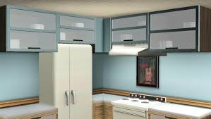 Overhead Kitchen Cabinets Mod The Sims Maxis Match Kitchen Cabinets Updated For Pets