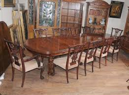 Victorian Dining Room Furniture Victorian Dining Table Set Chippendale Chairs Set Suite Mahogany