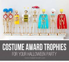 create custom trophies for your halloween costume contest u2013 party