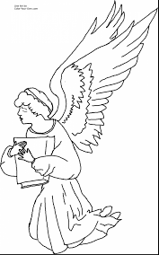 remarkable precious moments angels coloring pages with angel