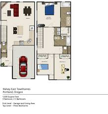 pricing and floor plans halsey east townhomes portland oregon