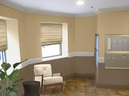 painting a room two colors opposite walls home interior wall