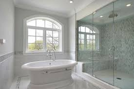 attractive bathroom backsplash ideas glass shower bath white ideas attractive bathroom backsplash fancy shower blue gray soho glass mosaic tiles surround rain picture