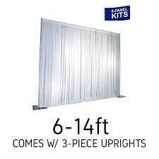 pipe and drape backdrop pipe and drape kits pipes and drapes event decor direct pipe
