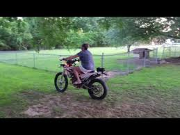 motocross bike videos mom rides dirt bike and crashes into fence jukin media