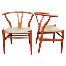 Hansen Patio Furniture by Hans J Wegner Early Wishbone Chairs For Carl Hansen And Son