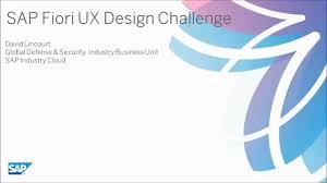sap ux tutorial opensap sap fiori ux design challenge aircraft acceptance youtube