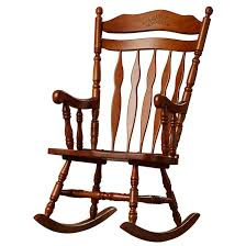 Oak Rocking Chairs Chair Sensational Greenwood Rocking Chair Solid Wood Rocker