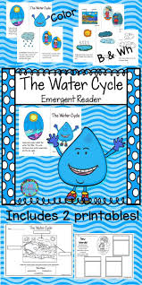water cycle emergent reader will be a great addition to your book