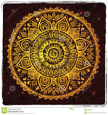 beautiful indian ornament stock vector image of 29903083