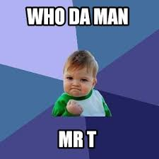 Mr T Meme - meme creator who da man mr t meme generator at memecreator org