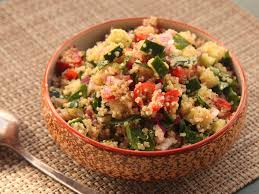 quinoa thanksgiving recipes make ahead quinoa salad with cucumber tomato and herbs serious