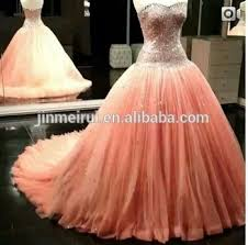 2014 new arrival real sample picture peach color sweethear beading