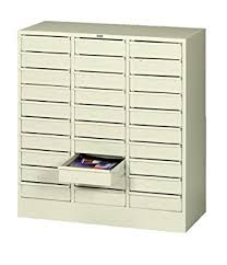 Safe Cabinet Laboratory File Cabinet Tennsco 3085 Steel Legal Size Thirty Drawer Cabinet 31