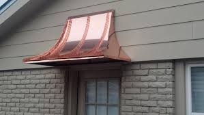 Standing Seam Awnings 4 Ft Copper Sweep Door Or Window Awning