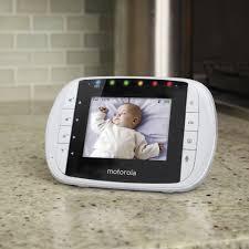 baby monitor black friday motorola wireless video baby monitor white mbp33s best buy