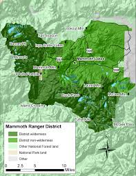 Green Ridge State Forest Camping Map by Inyo National Forest Mammoth Ranger District