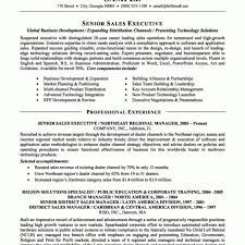 linear executive format resume template fred resumes