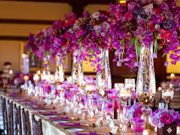 purple gold rich color wedding jpg