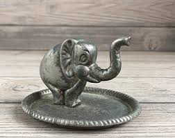 silver elephant ring holder images Elephant ring holder etsy jpg