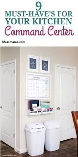 kitchen message center ideas best 25 kitchen calendar organization ideas on family