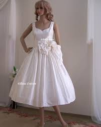 budget tea length wedding dress saveonthedate