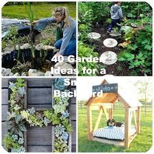 Small Outdoor Garden Ideas Diy Small Outdoor Garden Ideas Design Backyard Yard On A Budget