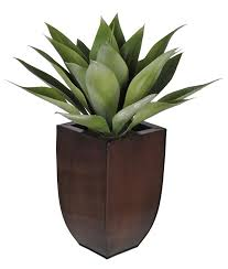 amazon com house of silk flowers artificial tabletop agave in dk