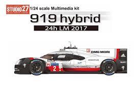 porsche 919 hybrid porsche 919 hybrid le mans 2017 1 2 1 24