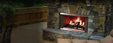 villawood outdoor wood fireplace heatilator