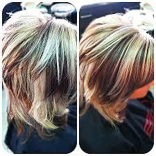 short brown hair with blonde highlights blonde hair fresh platinum blonde highlights on dark brown hair