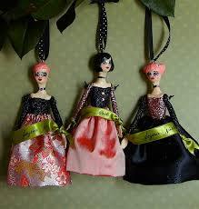 dolls by du buh du designs ornaments