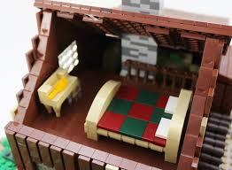 wood lego house lego ideas plum creek the little house on the prairie