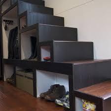 stair storage four styles u2013 tinyhousejoy