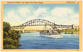 sagamore bridge over cape cod canal mass digital commonwealth