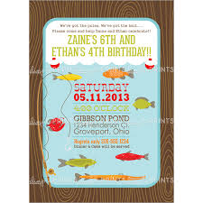 fish themed birthday party invitations stephenanuno com