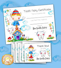 free printable tooth fairy certificate template tooth fairy