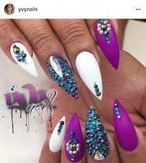 Rhinestone Nail Design Ideas 507 Best My Nails Images On Pinterest Bling Nails Coffin Nails