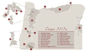 map of oregon wineries oregon wineries by region oregonwines