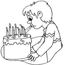 birthday cake no candles coloring page image inspiration of cake