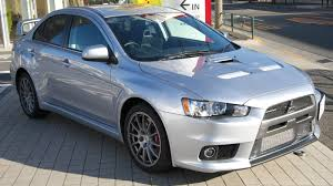 mitsubishi evolution 10 mitsubishi lancer evo x seems to fall into the crash