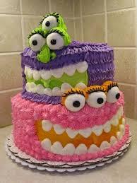 very sweet colourful birthday cake designs