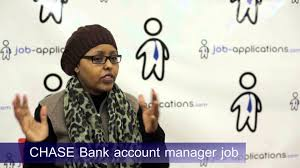 chase interview account manager youtube