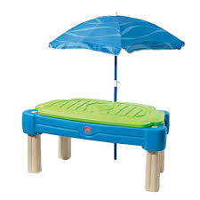 sand and water table with lid step2 cascading cove sand and water table 850900 the home depot